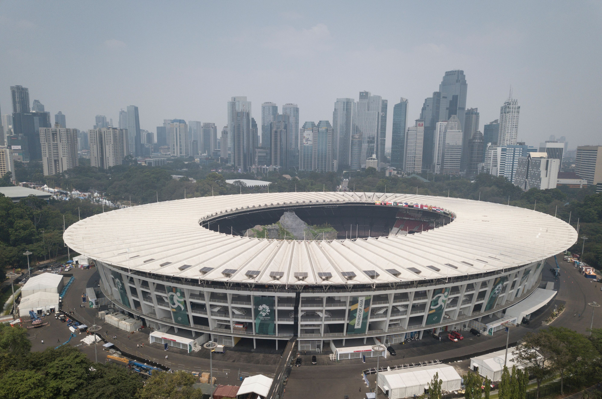 The CAS Ad-Hoc division will be in operation throughout the Asian Games in Jakarta and Palembang ©Getty Images