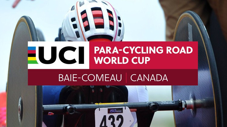 United States mixed elite relay team makes winning start to Para Cycling World Cup in Quebec