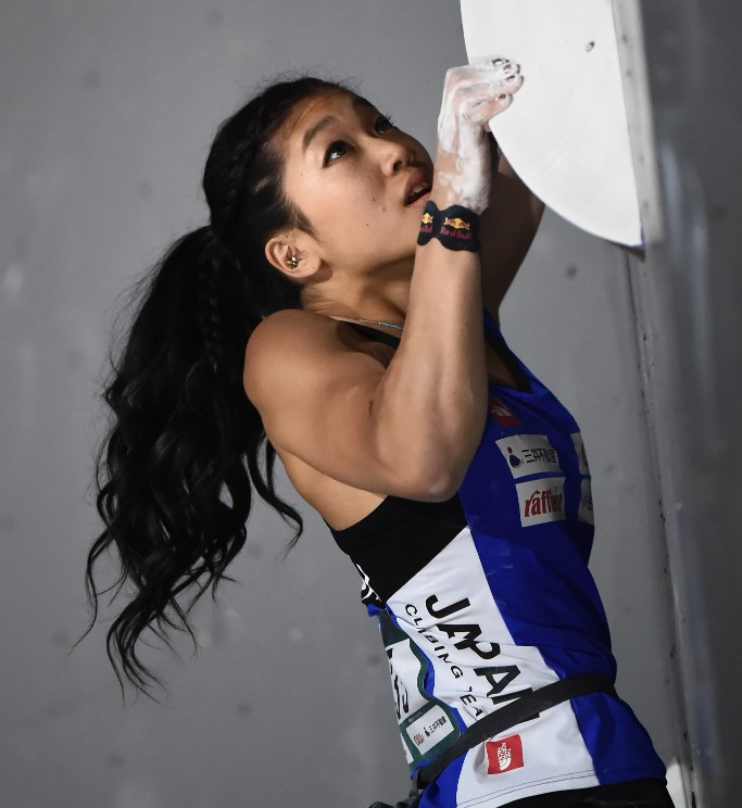 Nonaka and Kruder carry narrow leads into Munich IFSC Bouldering World Cup decider