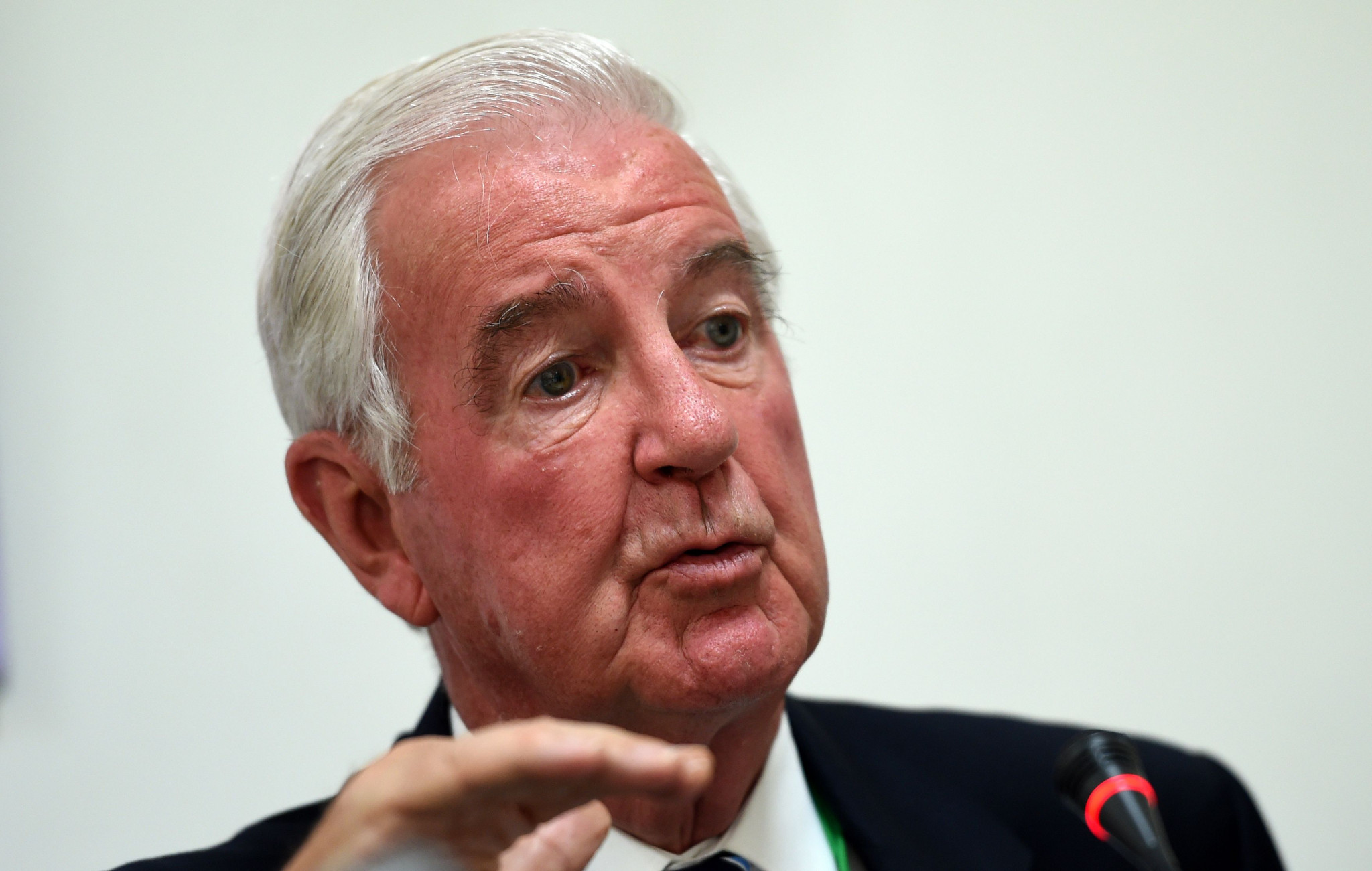WADA President Sir Craig Reedie admitted his frustration at the lack of response to Russia ©Getty Images