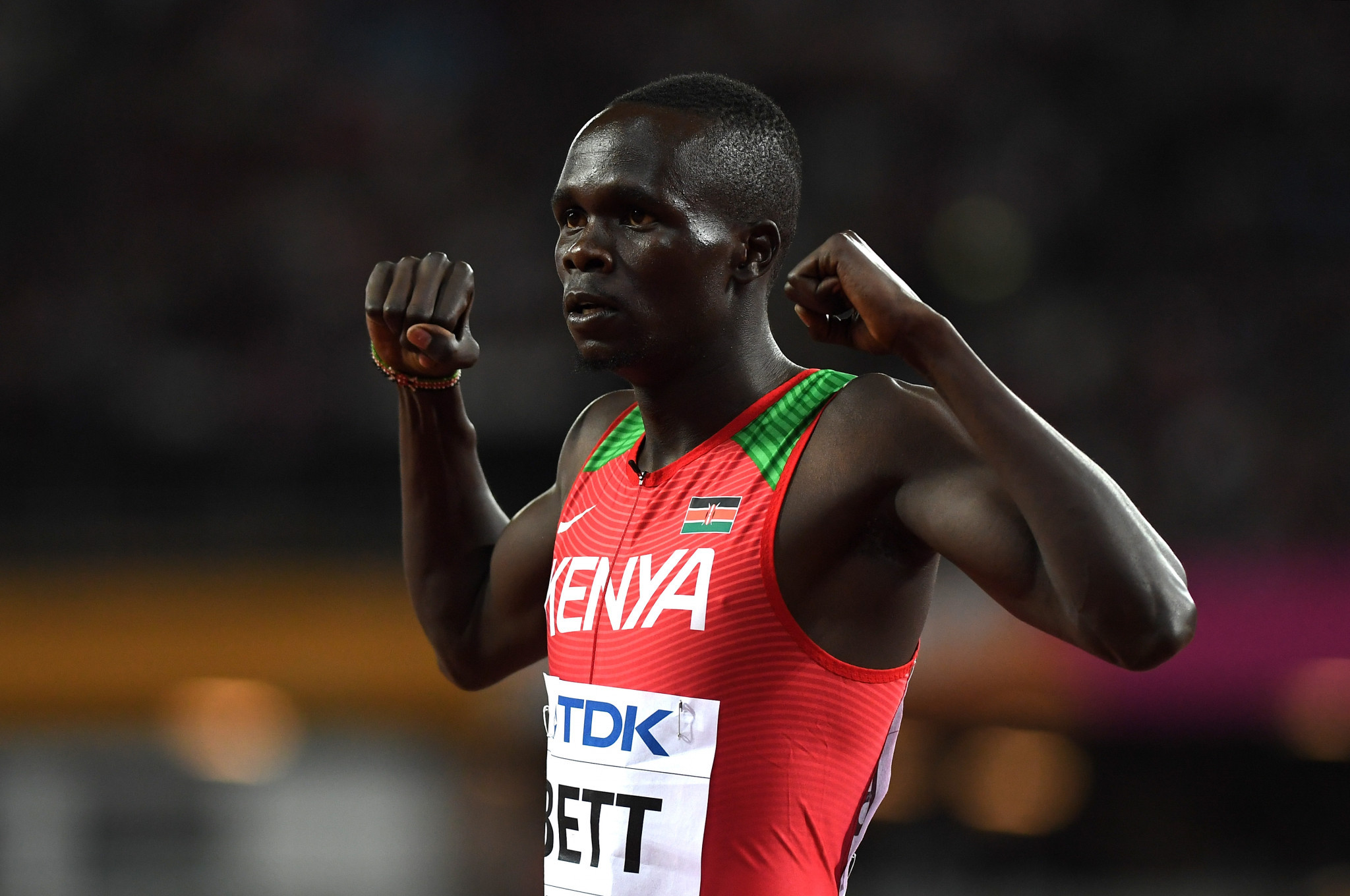 World Championships bronze medallist Kipyegon Bett has become the latest Kenyan athlete to be embroiled in an anti-doping case ©Getty Images