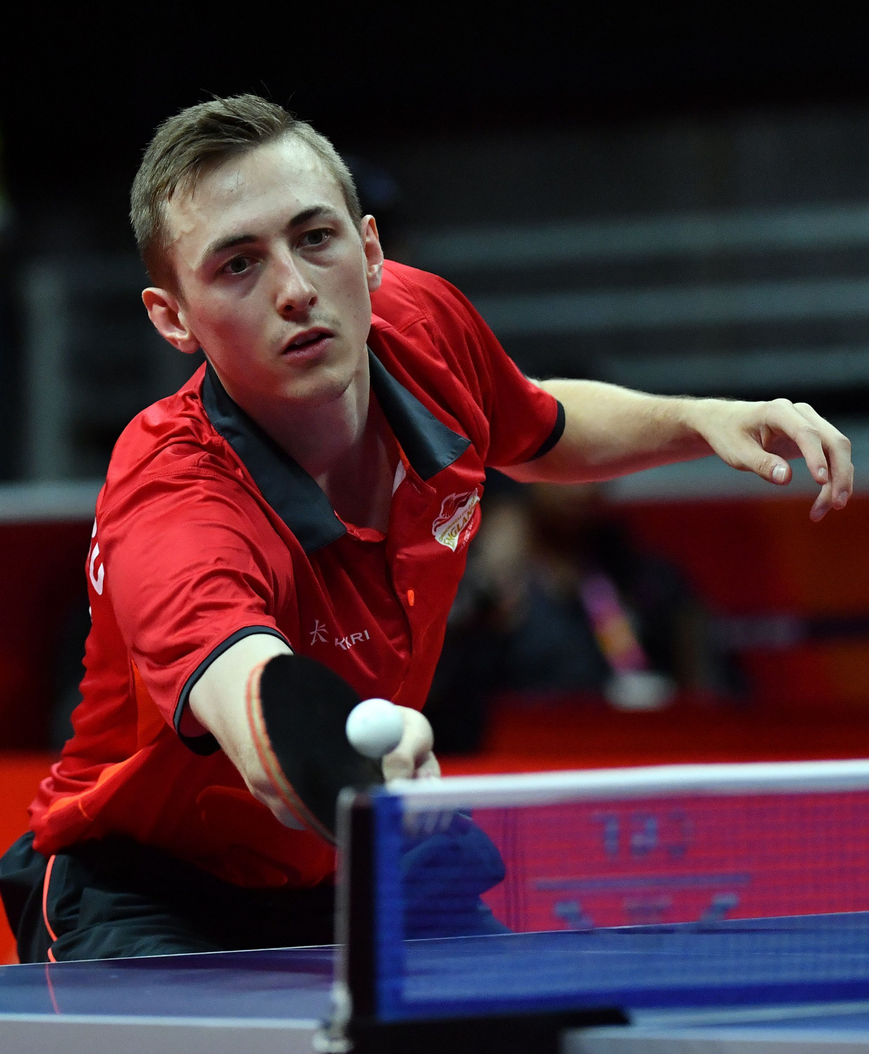 Liam Pitchford shocked Ma Long in Bulgaria ©Getty Images