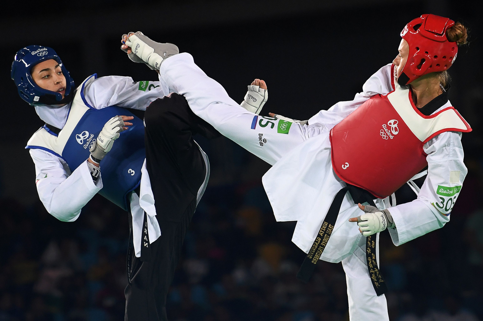Kimia Alizadeh made history by becoming the first Iranian woman to win an Olympic medal when she claimed bronze in the under-57 kilograms category at Rio 2016 ©Getty Images