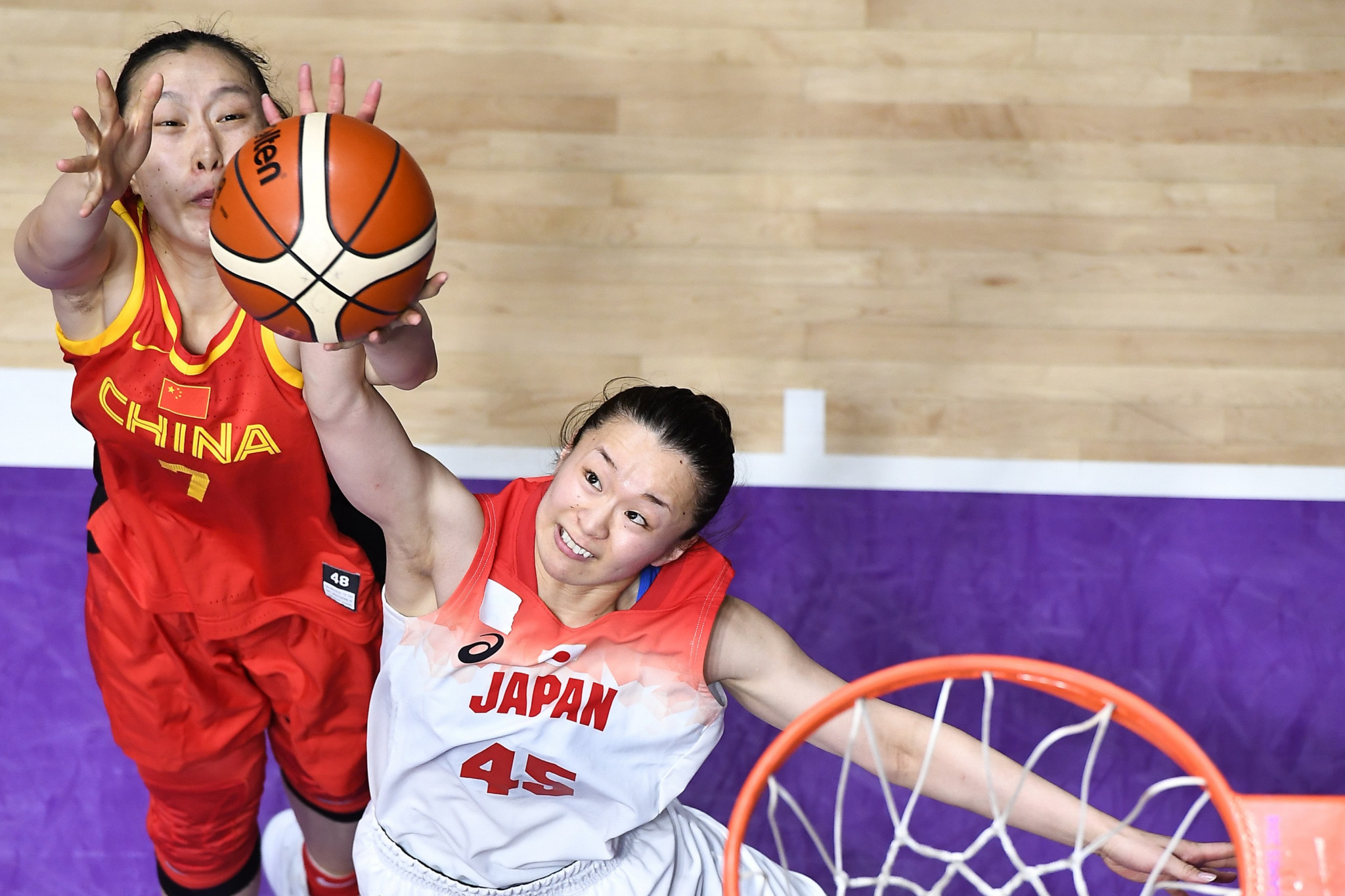 Basketball 5x5 was one of several sports in which preliminary-round action was held today with China beating Japan 105-73 in Group B of the women's event ©Getty Images