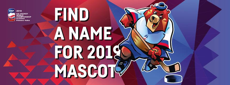 Organisers unveil bear mascot for 2019 IIHF World Championships