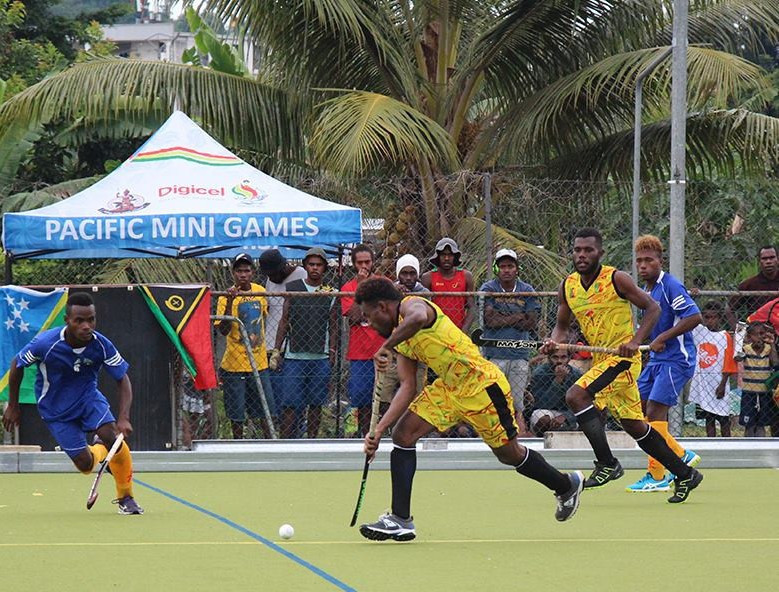 Hosts Vanuatu and Fiji to collide in both finals at Hockey Series in Port Vila