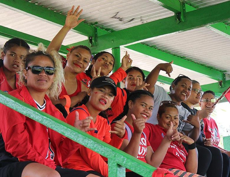 Fans enjoying the action at the Wan Smolbag Hockey Stadium  ©FIH