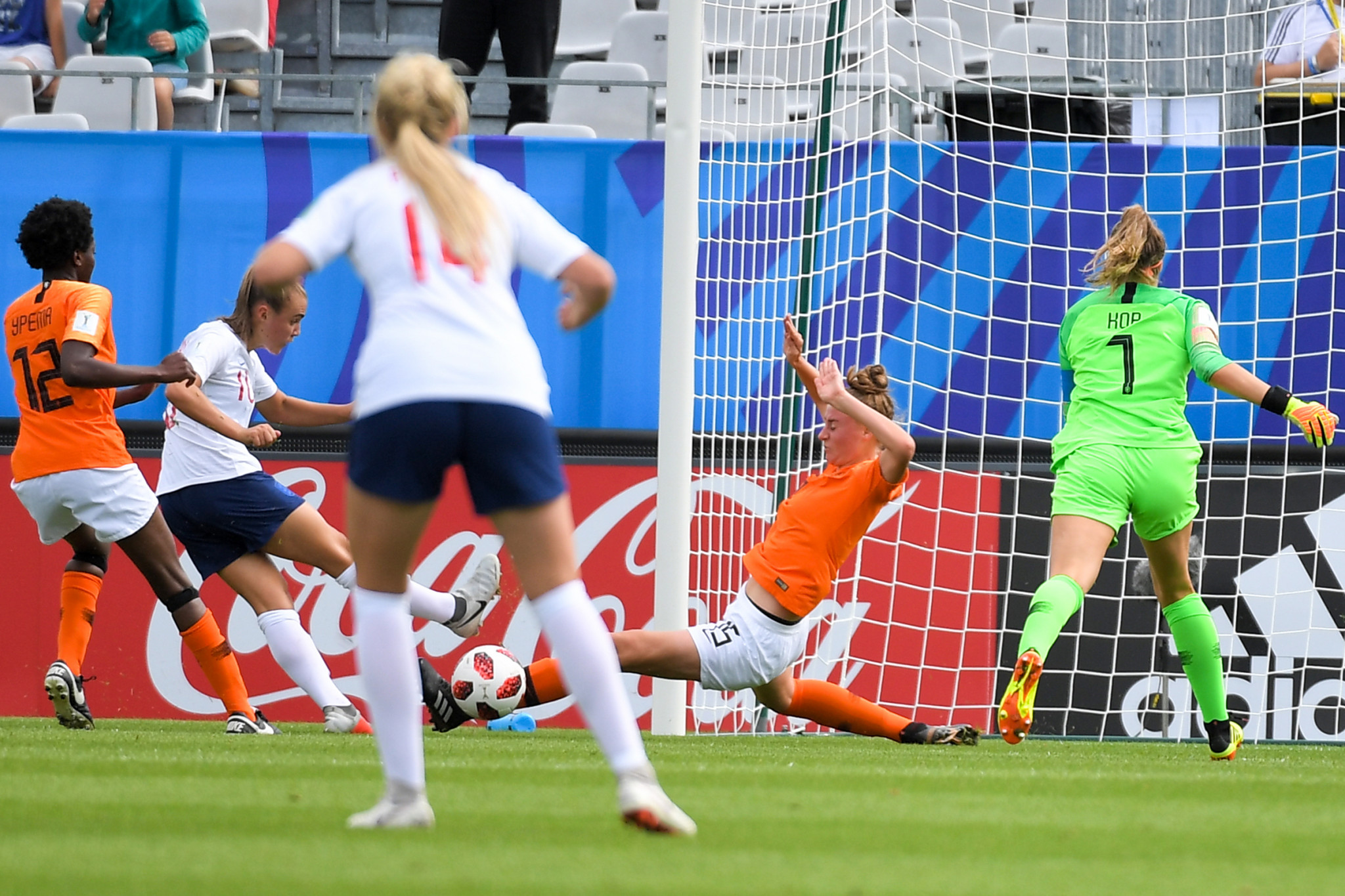 Georgia Stanway scored twice to guide England to victory over The Netherlands ©Getty Images