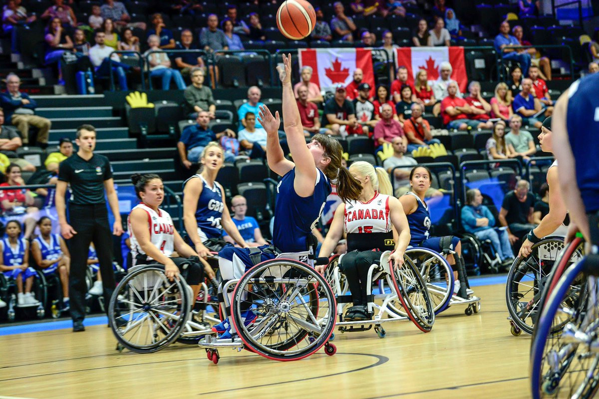 Britain's women stun defending champions Canada at Wheelchair Basketball World Championships