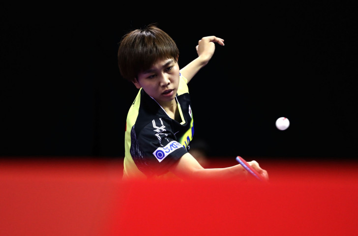 Hitomi Sato of Japan earned a place today in the women's semi-finals of the ITTF Bulgaria Open event ©Getty Images