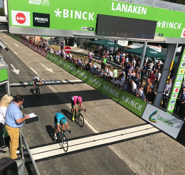 Cort wins from breakaway on fifth stage of BinckBank Tour