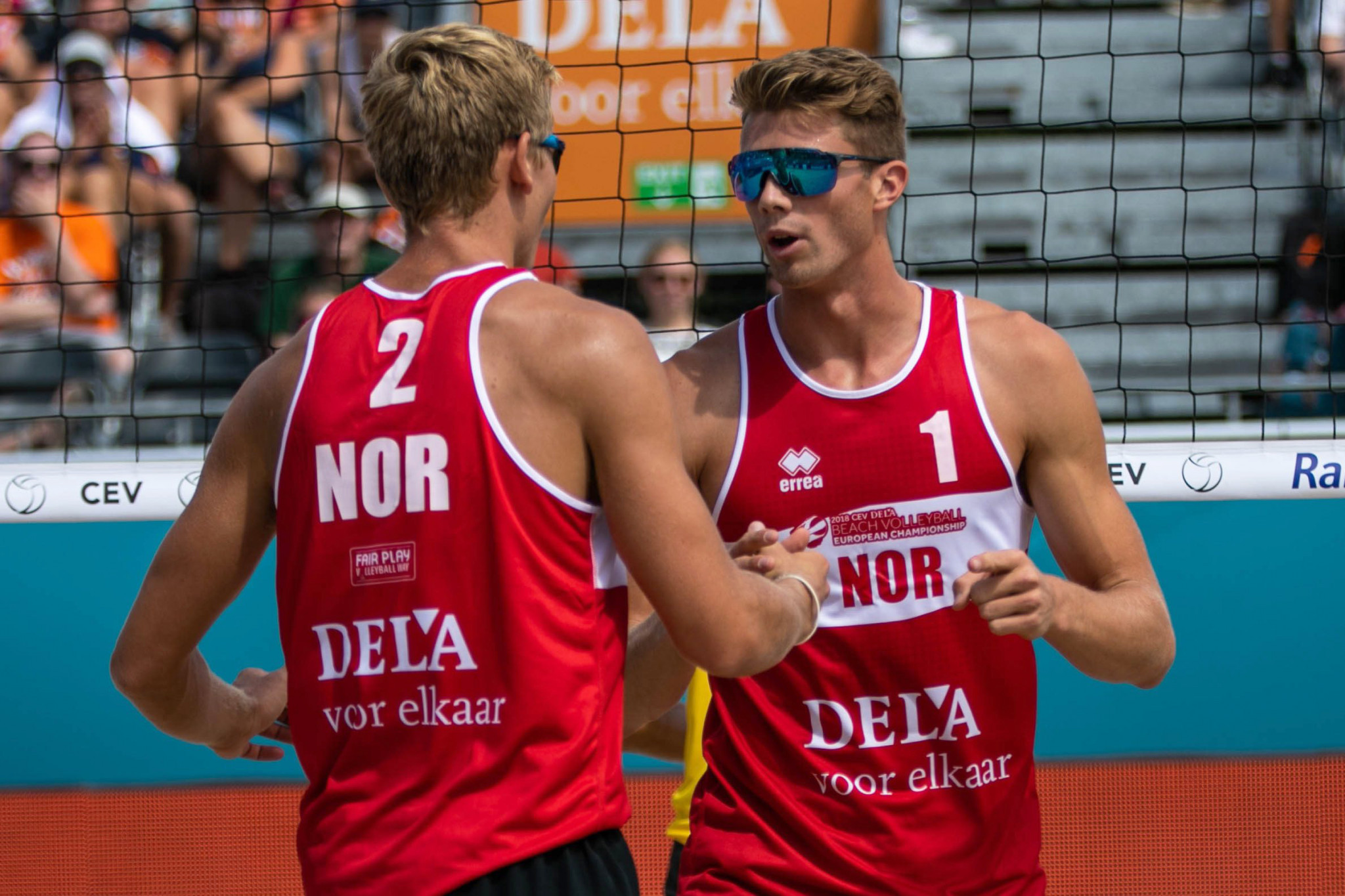 European champions Mol and Sorum book semi-final place at FIVB Beach Volleyball World Tour Finals