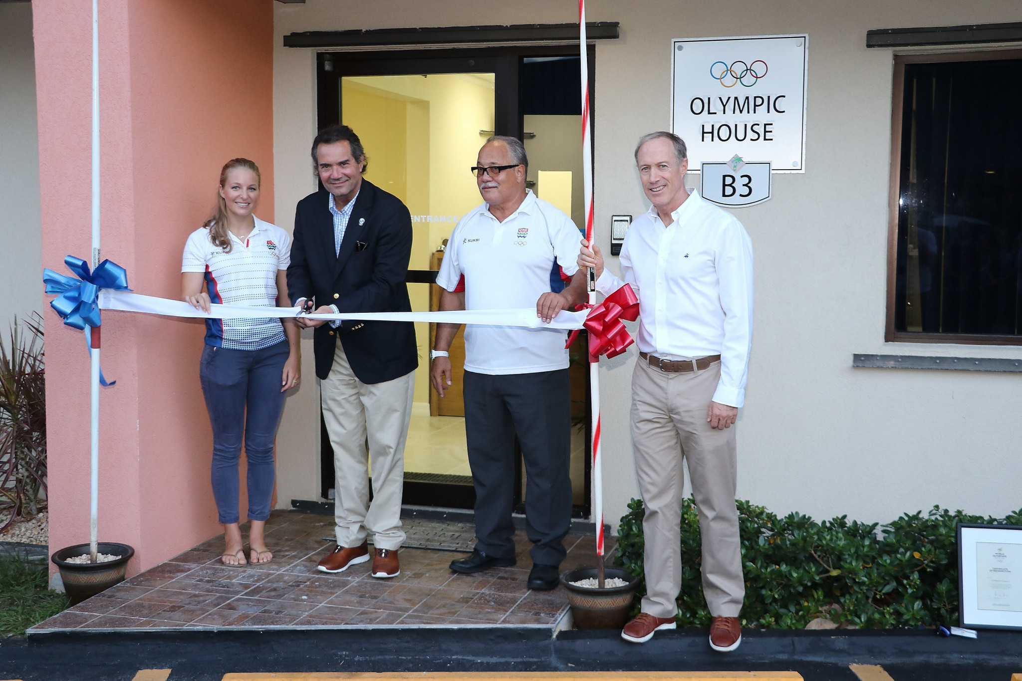Cayman Islands fulfill dream of first Olympic House