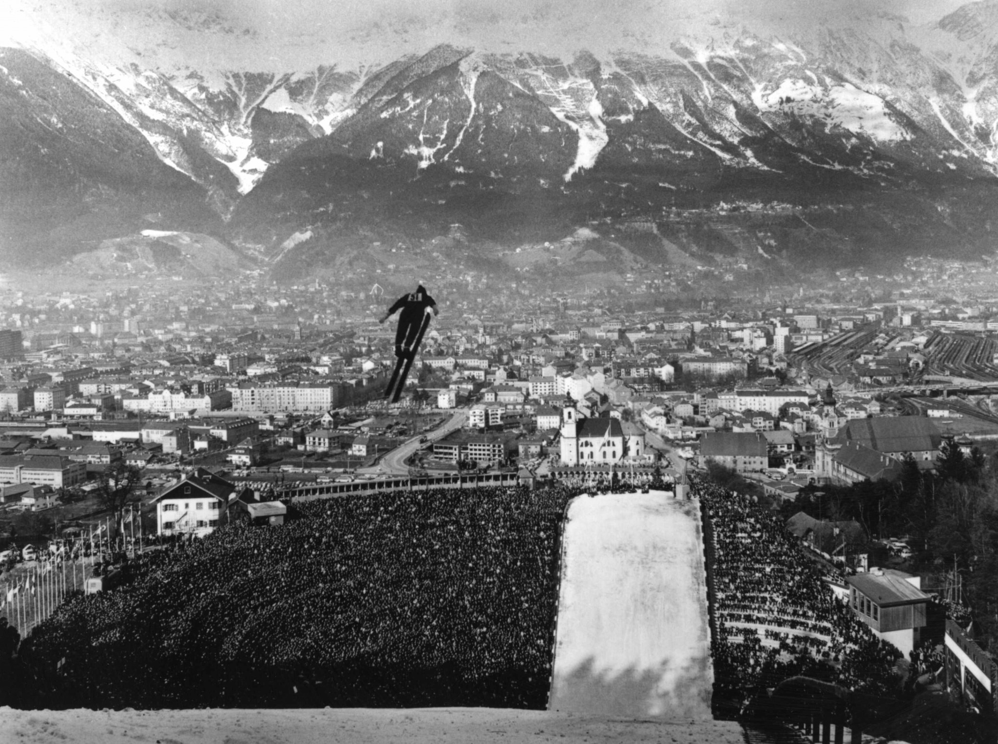 The Winter Olympic Games were on an upward curve after the 1964 edition in Innsbruck ©Getty Images
