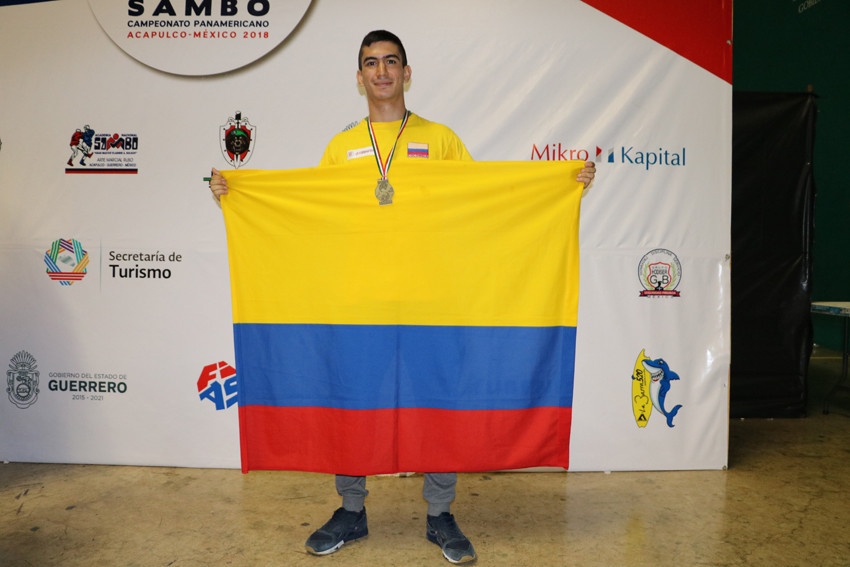 Juan Franco won gold on his return to competition at the Pan American Championships in Mexico ©FIAS