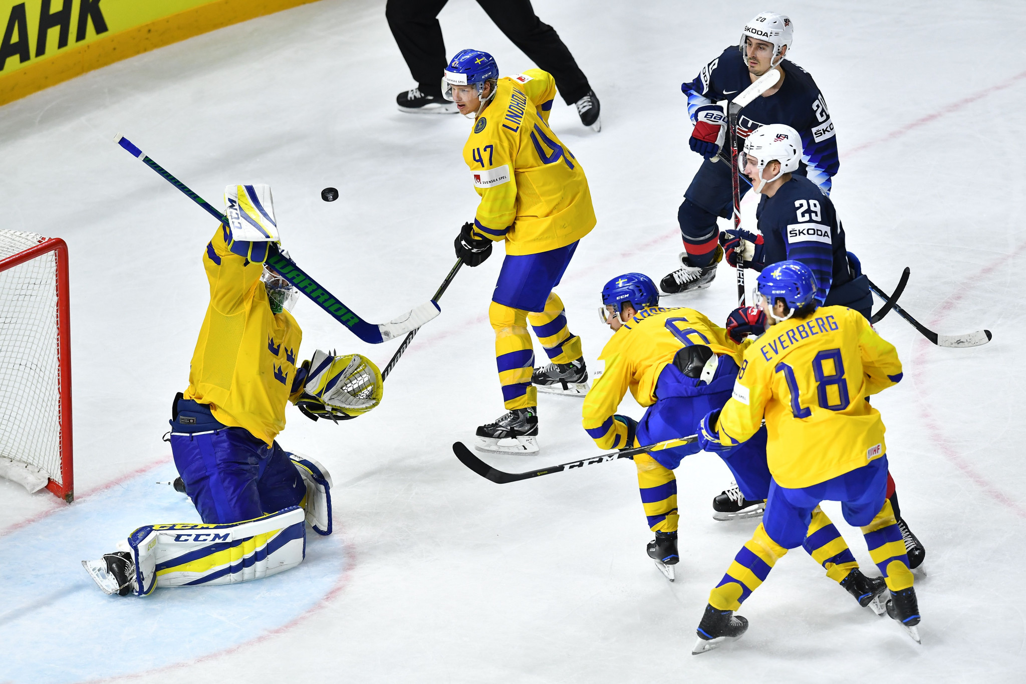 Sweden back plan to award three consecutive IIHF World Championships
