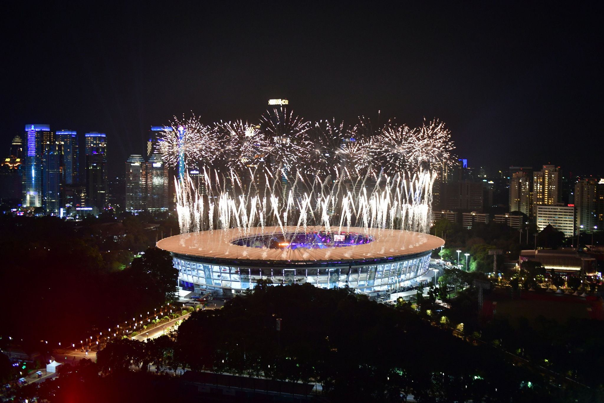 The 2018 Asian Games officially began today, with the Opening Ceremony at the Gelora Bung Karno Main Stadium ©Getty Images