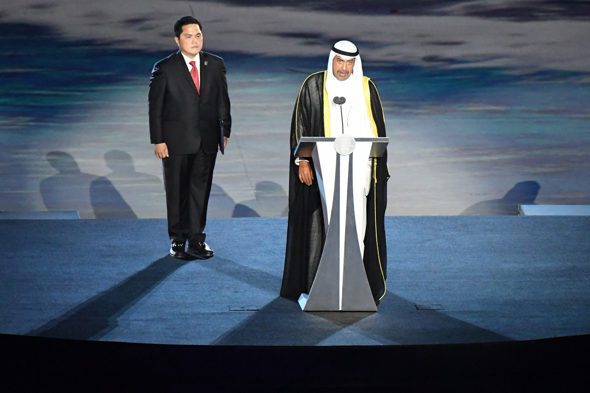 Following a short speech by the Olympic Council of Asia President, Shiekh Ahmed Al-Fahad Al-Ahmed Al-Sabah, the Games were declared officially open ©Getty Images