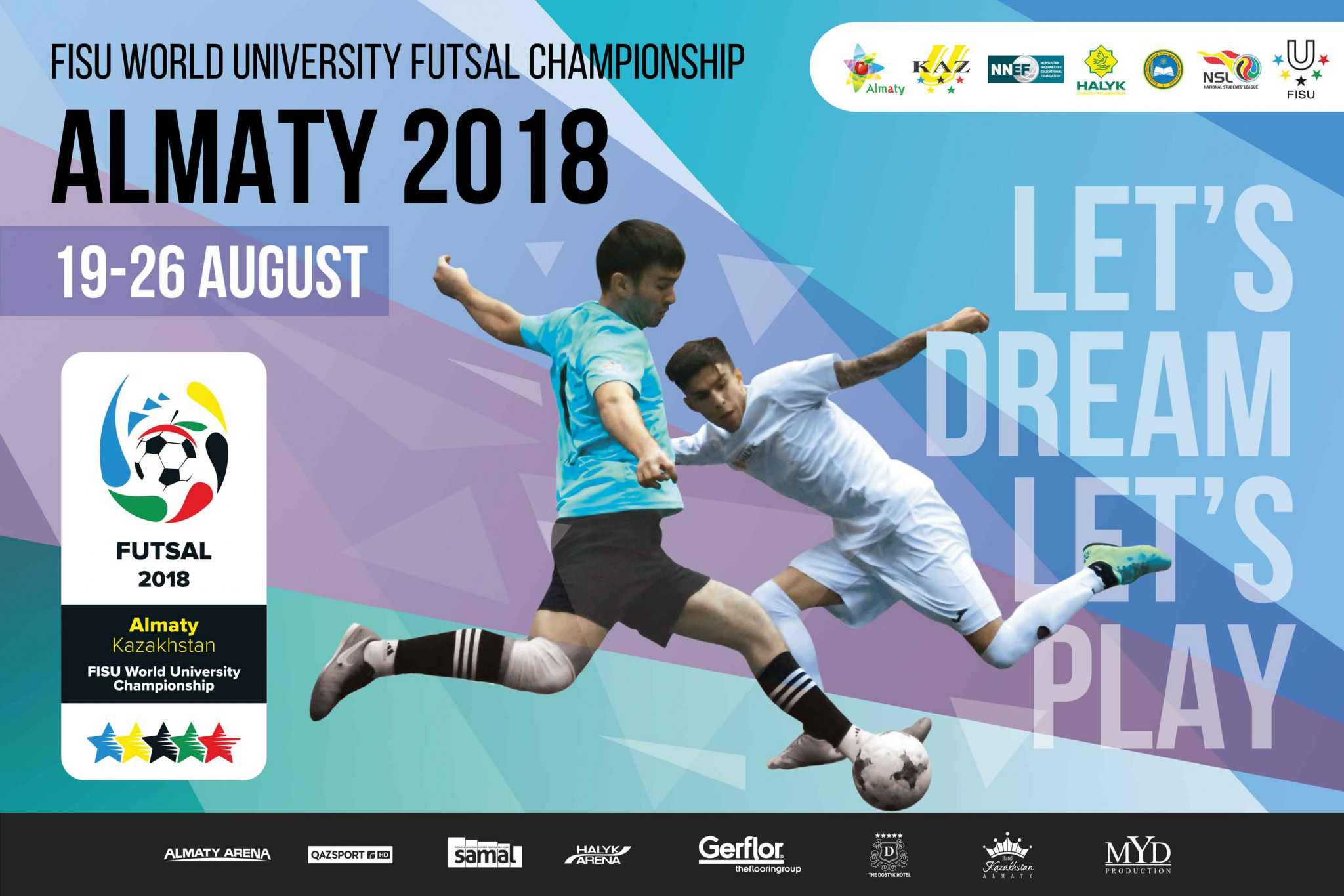 Almaty to host FISU World University Futsal Championships