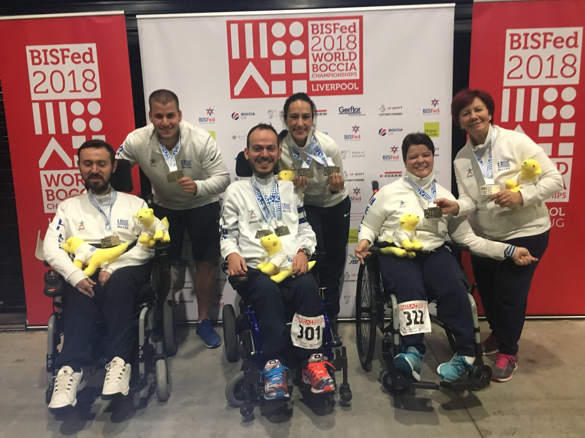 Thailand, Slovakia and Greece earn gold on final day of Boccia World Championships