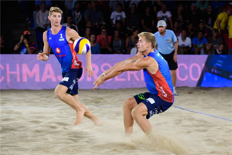 Norway's Mol and Sorum secure men's gold and record prize at FIVB Beach Volleyball World Tour Finals