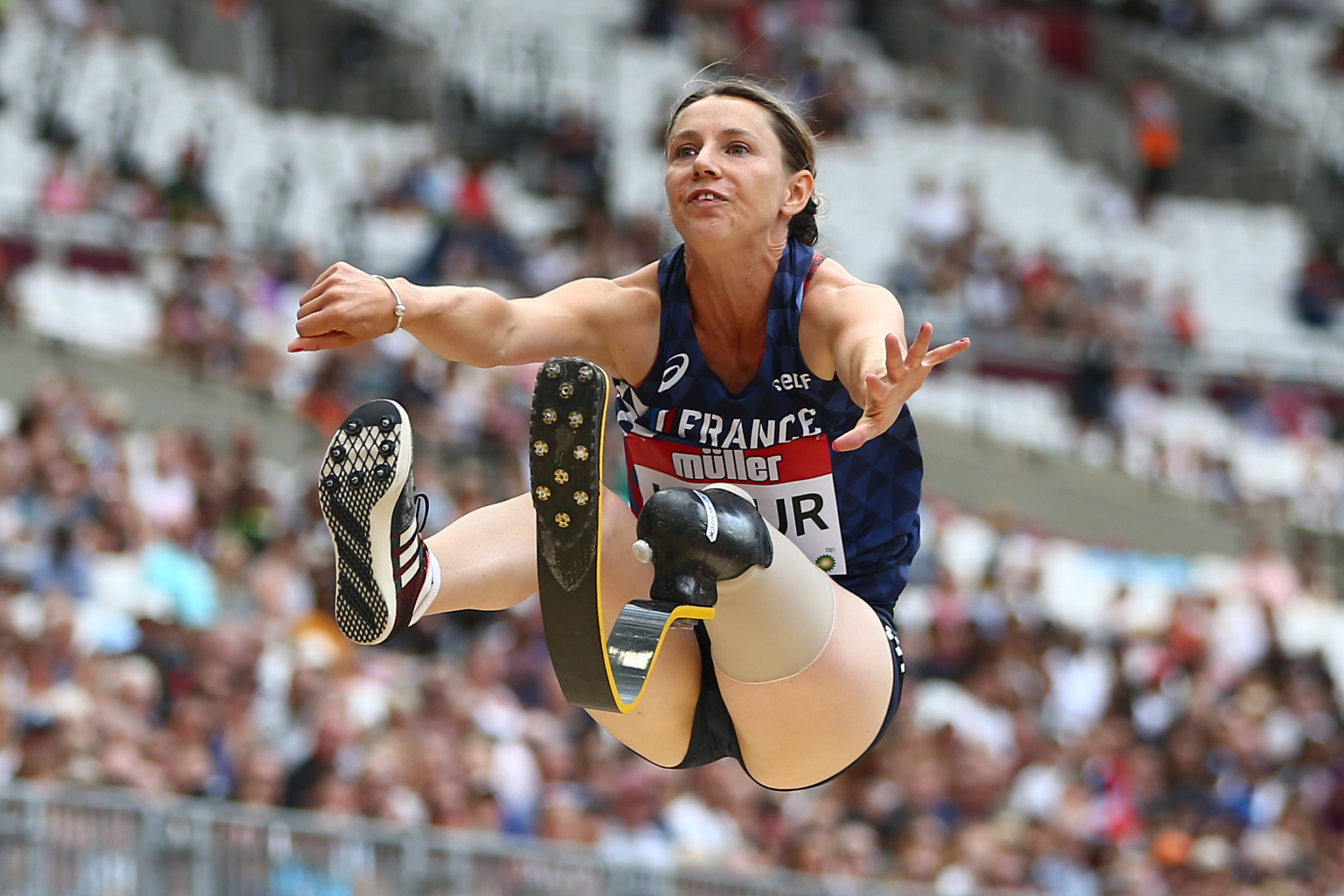 Three-time Paralympic champion Le Fur joins French Economic, Social and Environmental Council