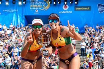 Brazil's Agatha and Duda hit the jackpot in women's FIVB Beach Volleyball World Tour Finals