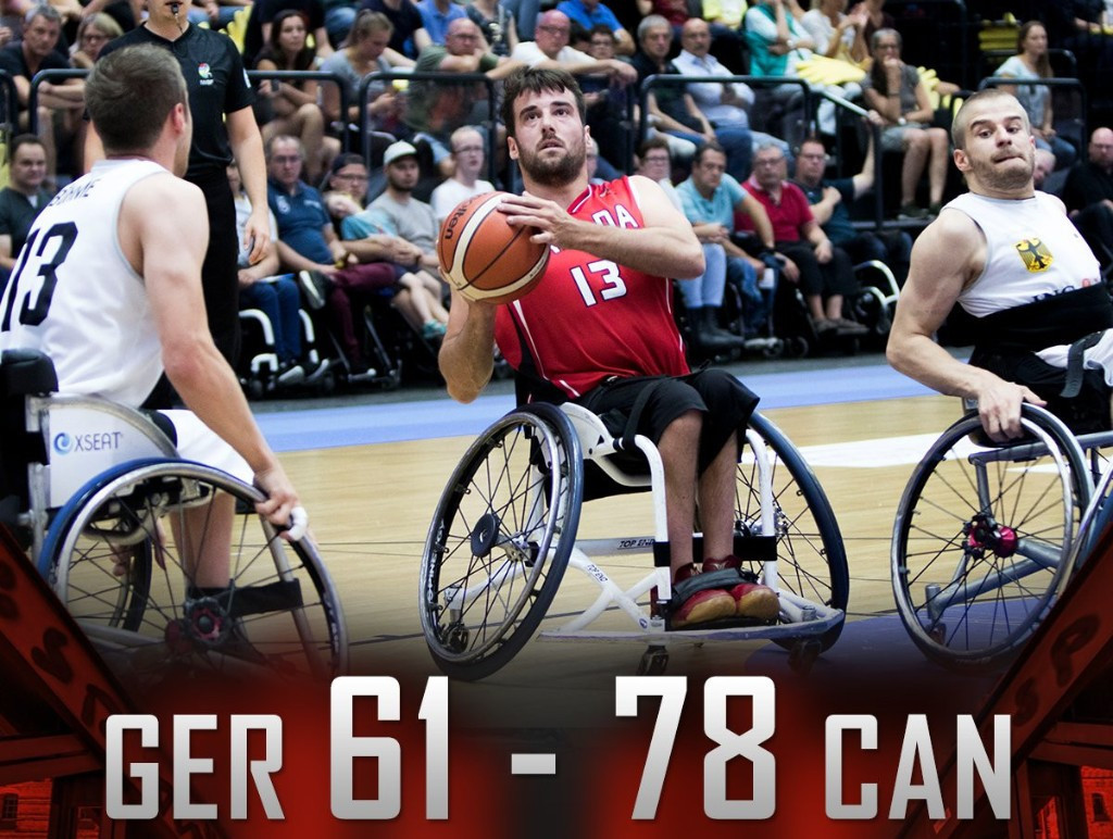 Canada maintain winning start to men's Wheelchair Basketball World Championships