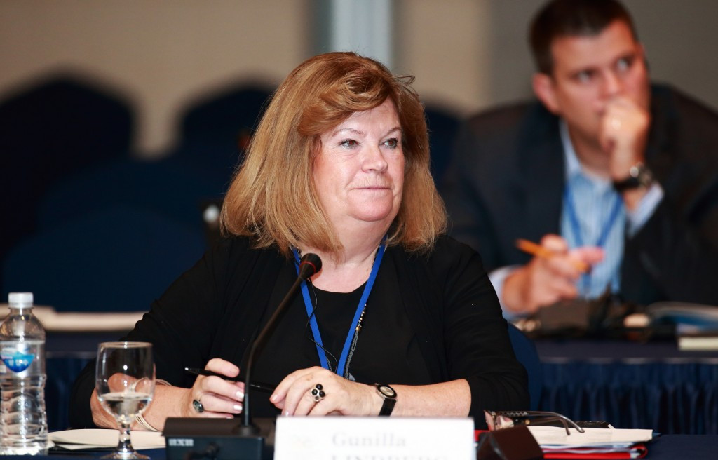 "IOC Coordination Commission chair Gunilla Lindberg claims she is ""totally convinced"" venues will be ready on time for the Pyeongchang 2018 test events ©Pyeongchang 2018"