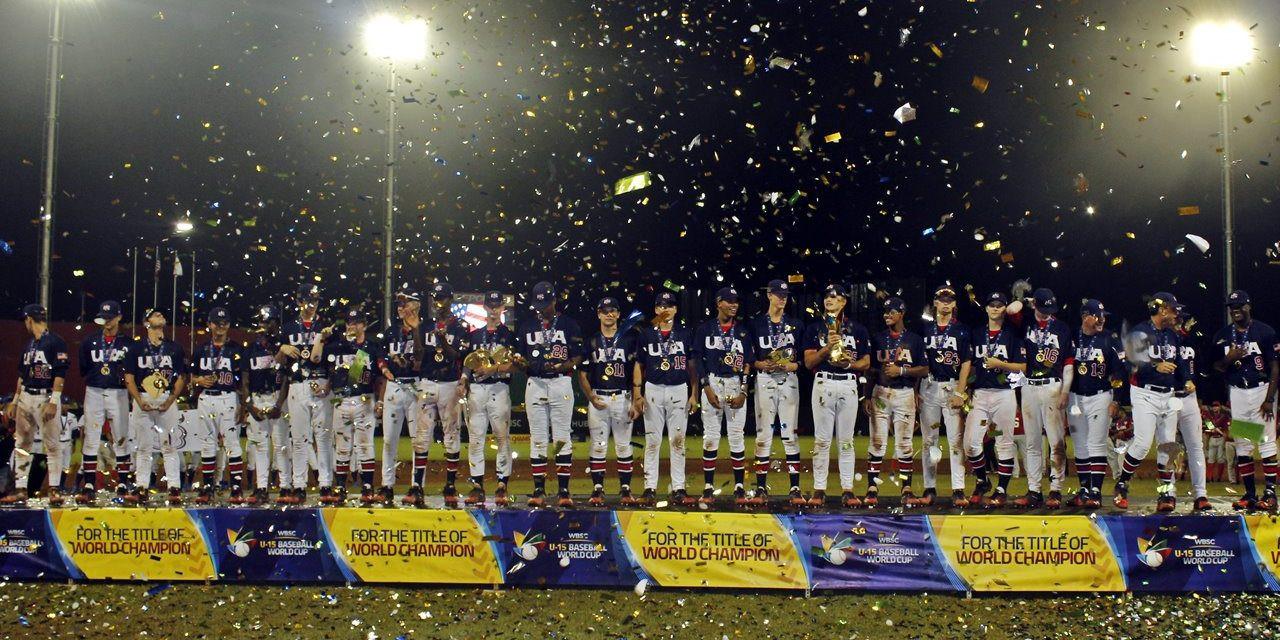 United States beat hosts Panama to claim first Under-15 Baseball world title