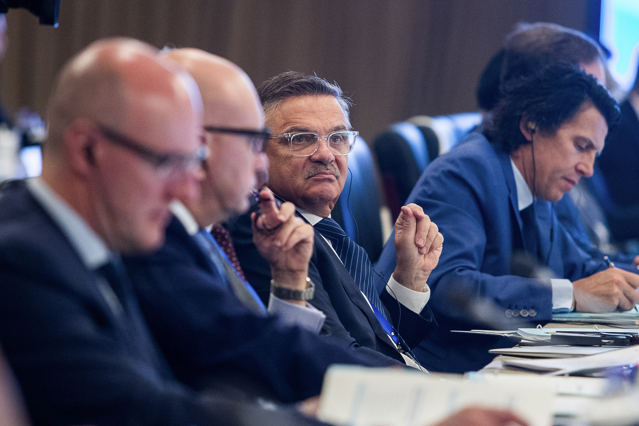 IIHF President René Fasel is the longest serving of the Winter International Federation Presidents ©Getty Images