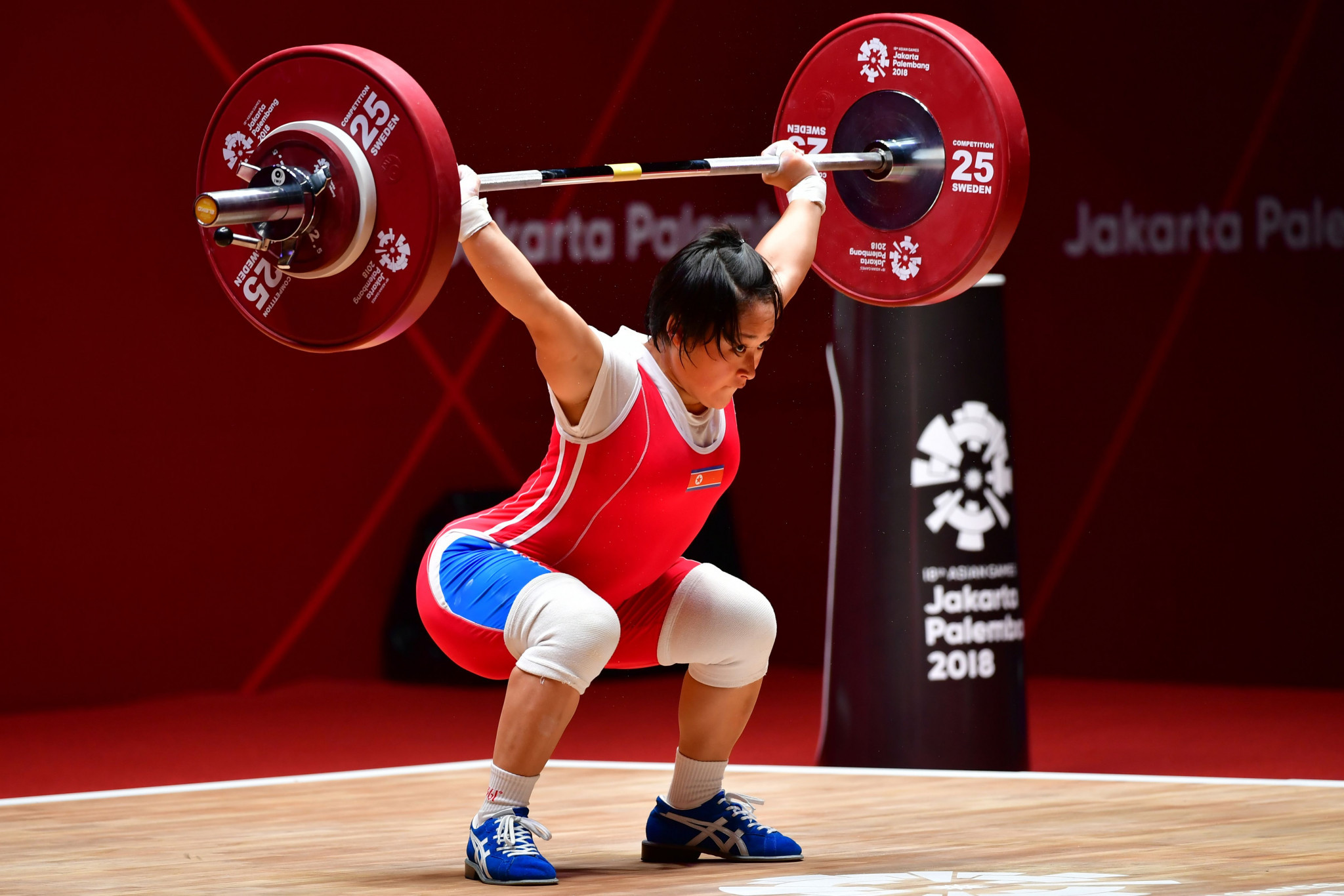 Compatriot Ri Song Gum had earlier come out on top in the women's 48kg event ©Getty Images