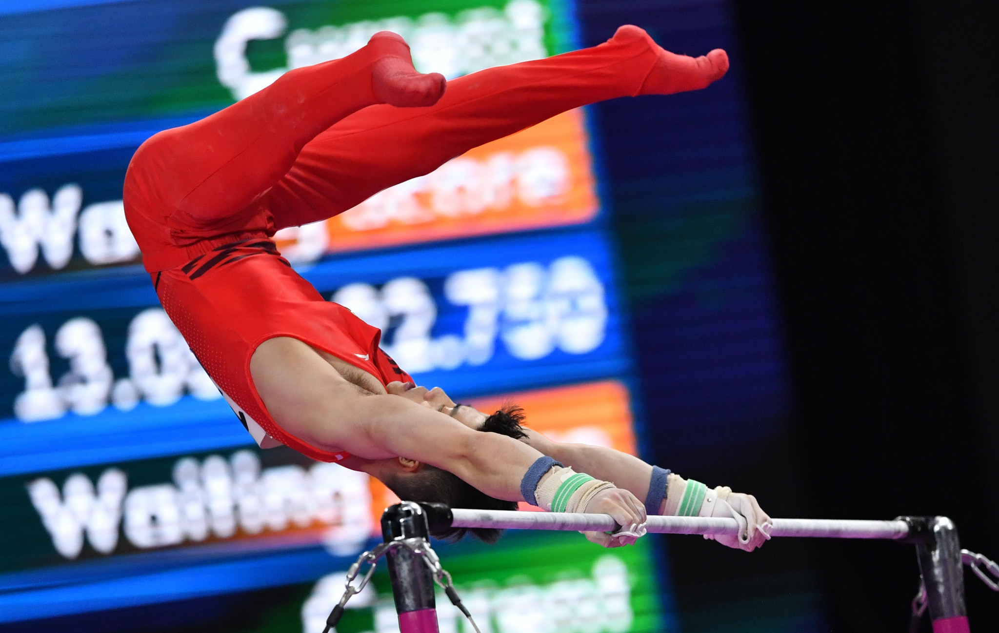 Artistic gymnastics was among a number of sports in which medals were first awarded today with China's Lin Chaopan taking the men's individual all-around title ©Getty Images