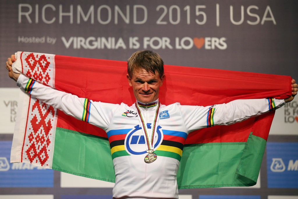 Kiryienka wins time trial on day of surprises at World Road Cycling Championships