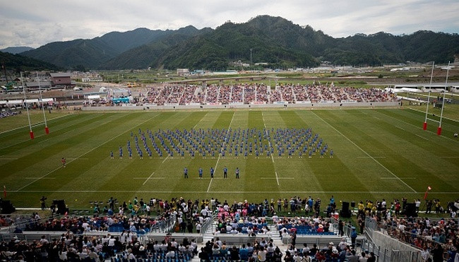 Seven years after the tsunami that wrecked the city, and more than a year ahead of the 2019 Rugby World Cup that it will help to host in Japan, the Kamaishi Recovery Memorial Stadium opened on Sunday ©World Rugby