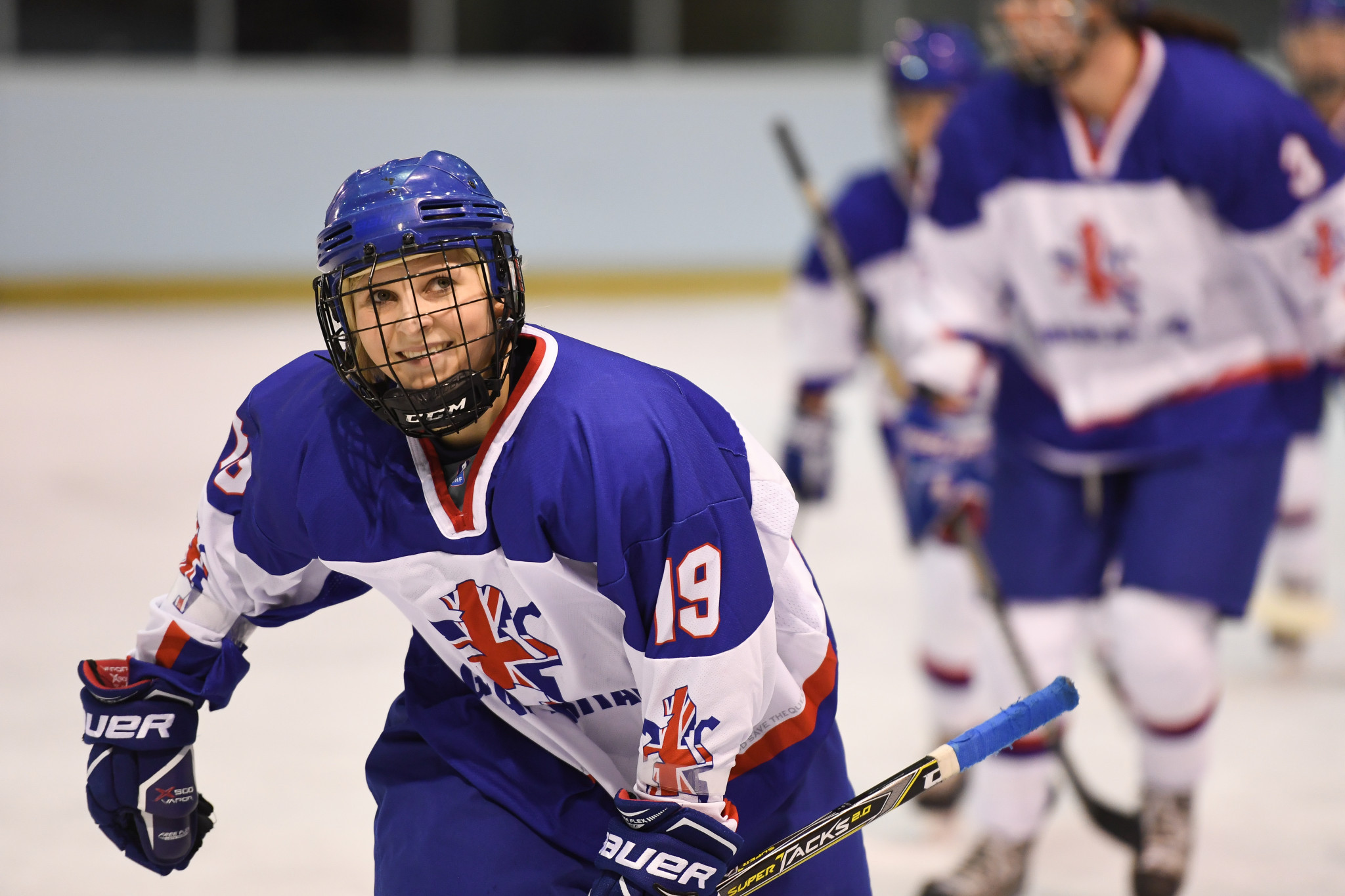 Kim Lane participated in the camp ©Ice Hockey UK