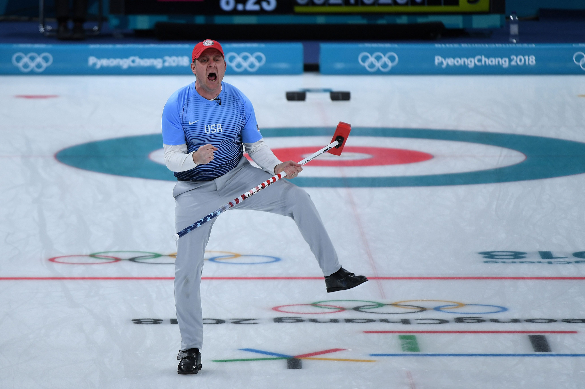United States curling Olympic champions return to Omaha to throw first pitch at baseball match