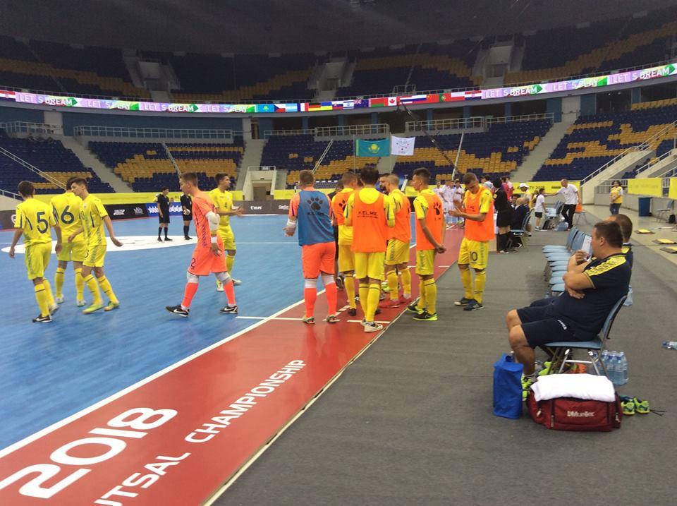Kazakhstan have mixed fortunes against New Zealand at World University Futsal Championships