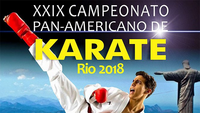 Rio de Janeiro to host Pan American Karate Federation Junior, Cadet and Under-21 Championships