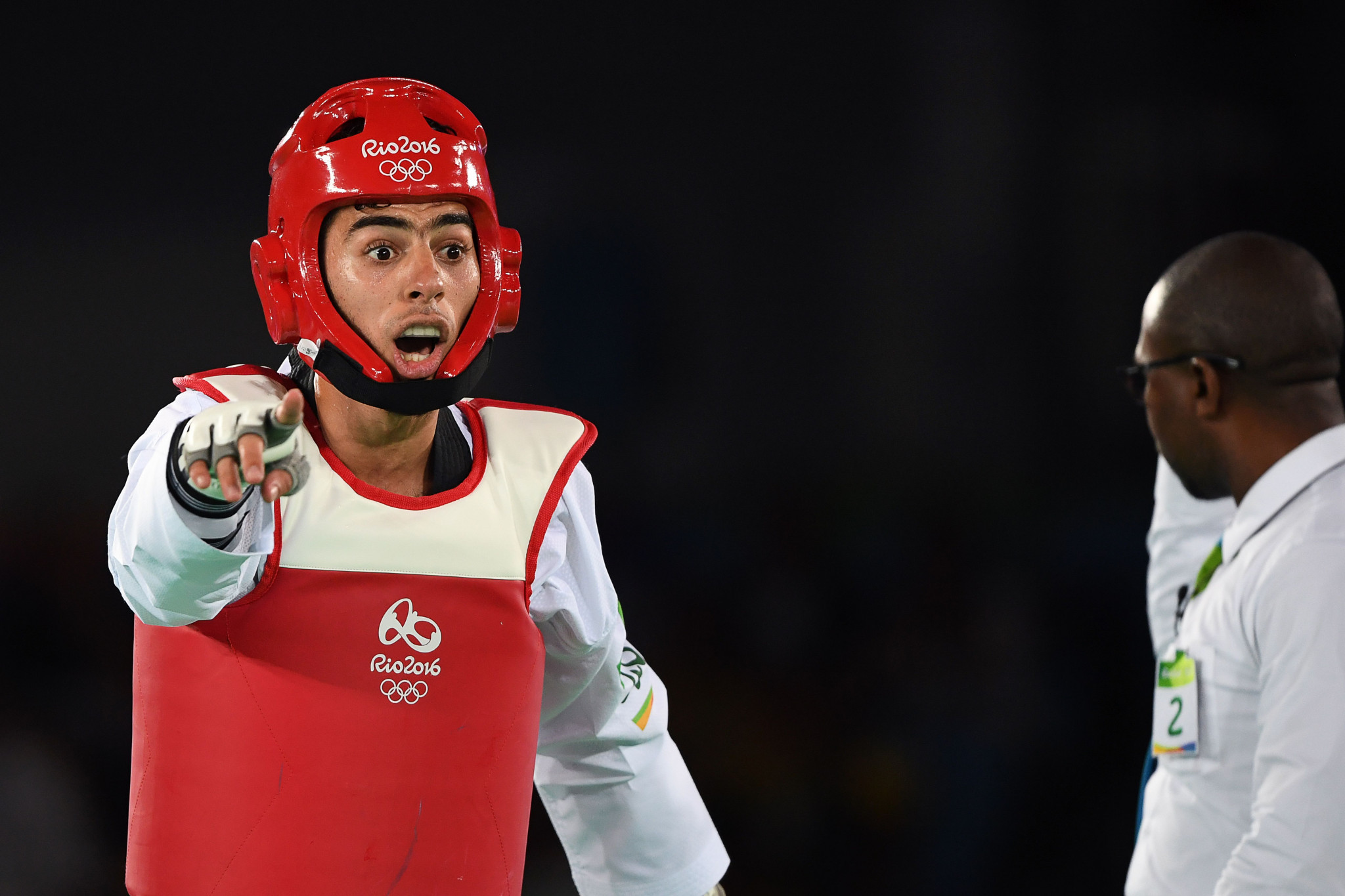 Jaouad Achab is one of Belgian taekwondo's star names ©Getty Images