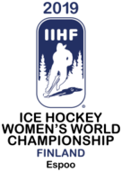 The logo for the forthcoming Championships has been designed by Finland's own star forward Michelle Karvinen ©IIHF