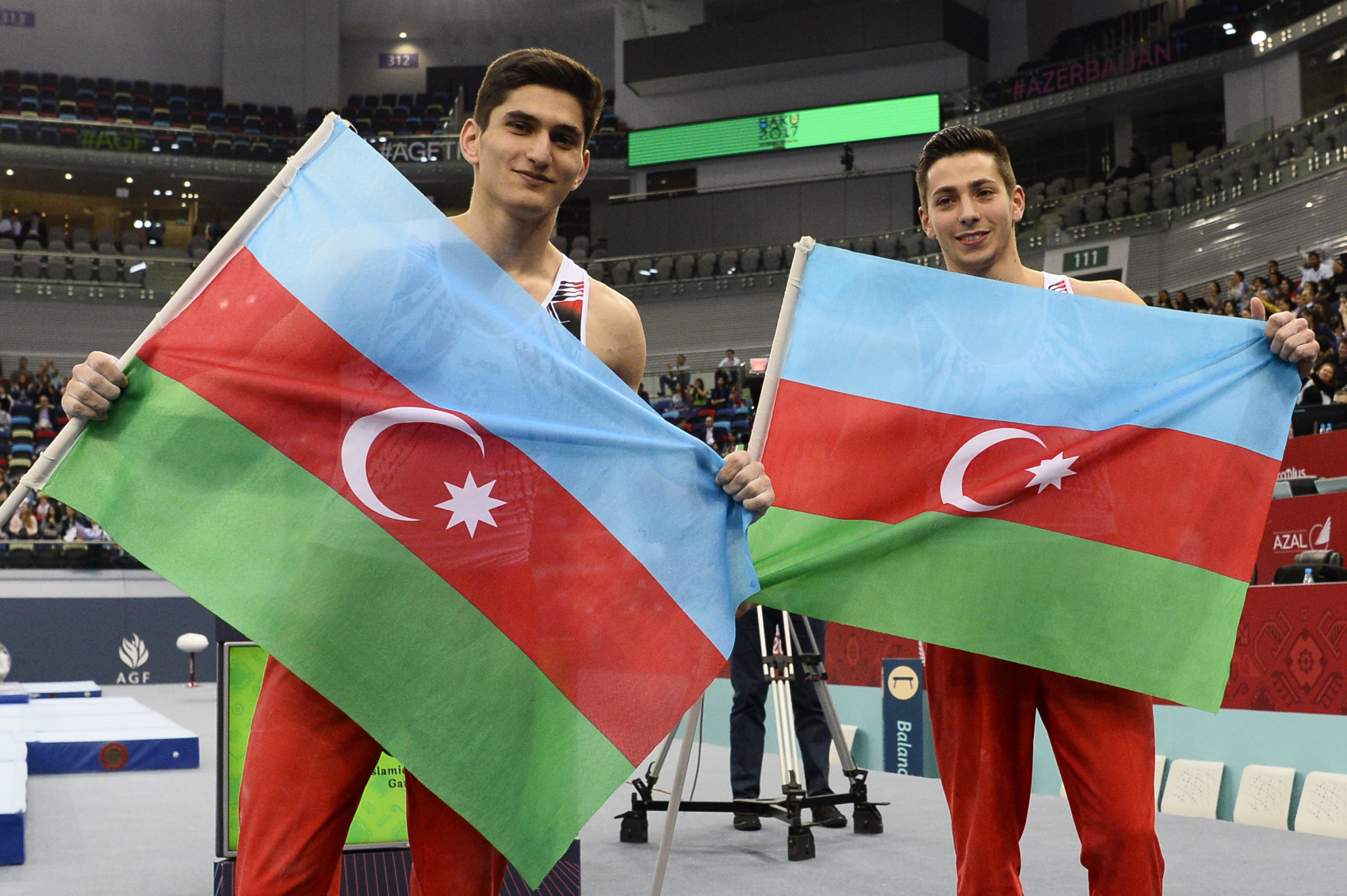Azerbaijan has become an increasingly prominent gymnastics nation ©Getty Images