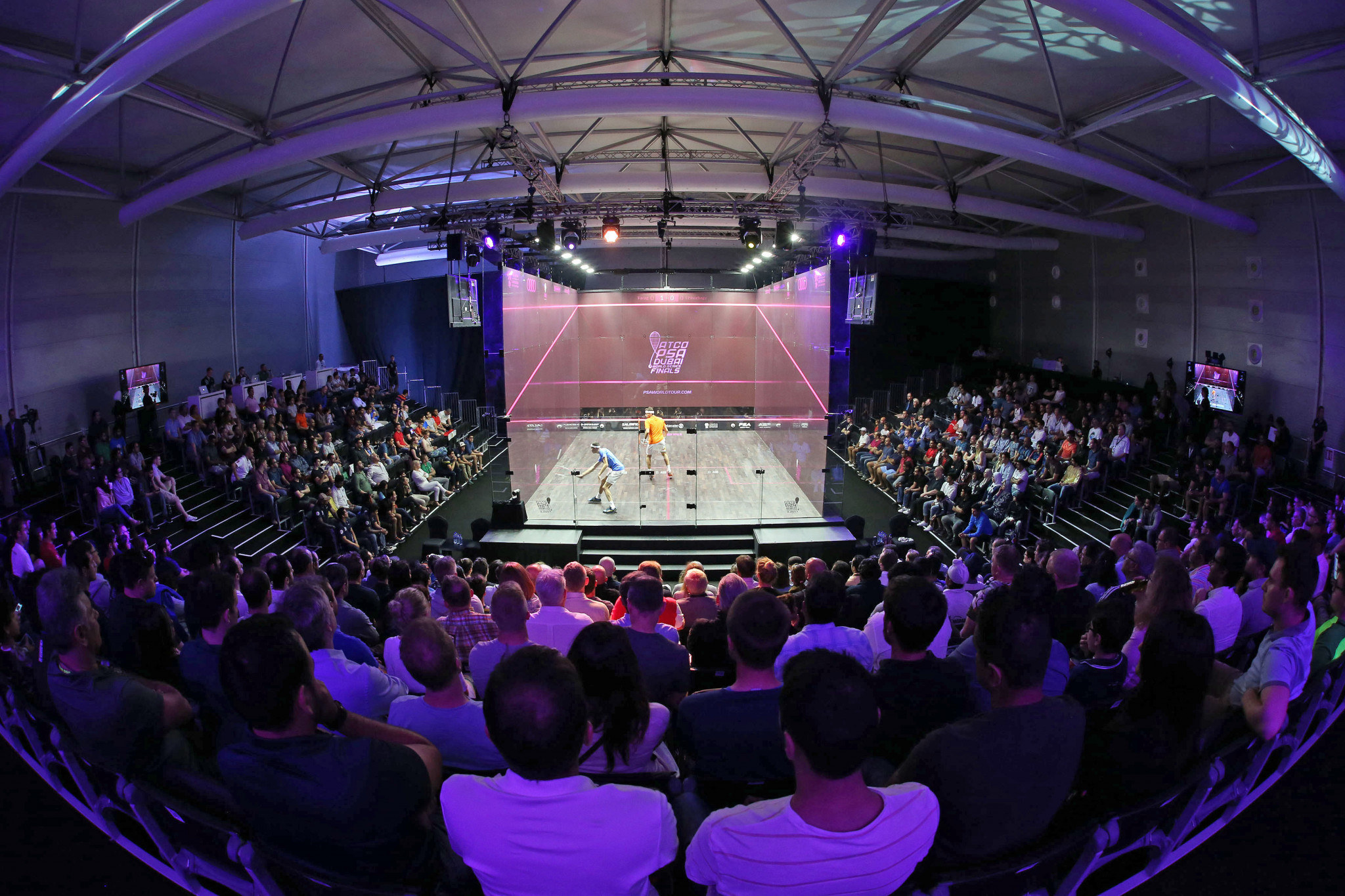 PSA and interactiveSQUASH to bring live matches to smart courts worldwide