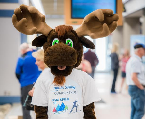 Fraser the Moose named 2019 World Para Nordic Skiing Championships mascot as medals unveiled