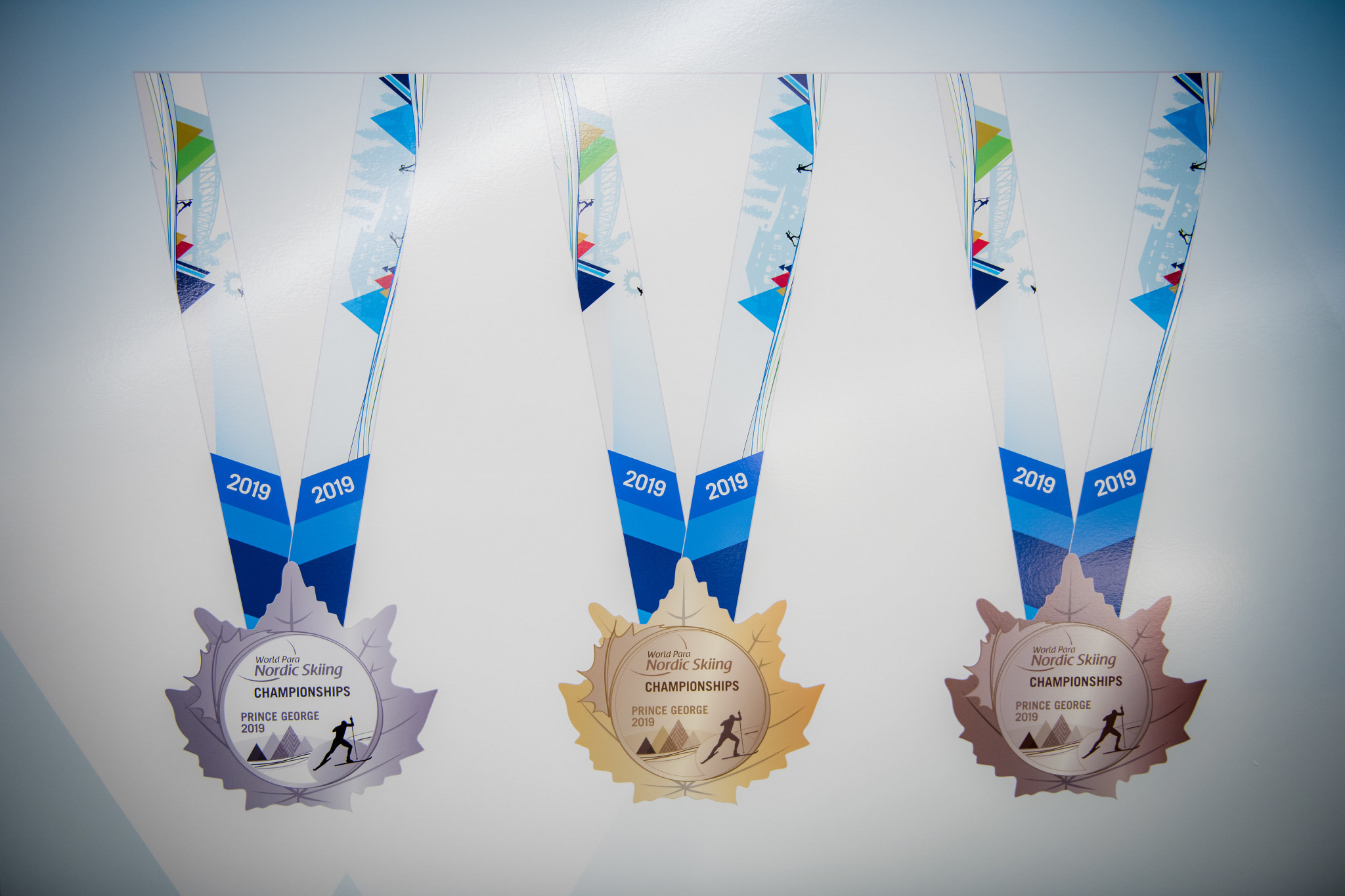 Medals have been unveiled for the Championships ©Canadian Paralympic Committee