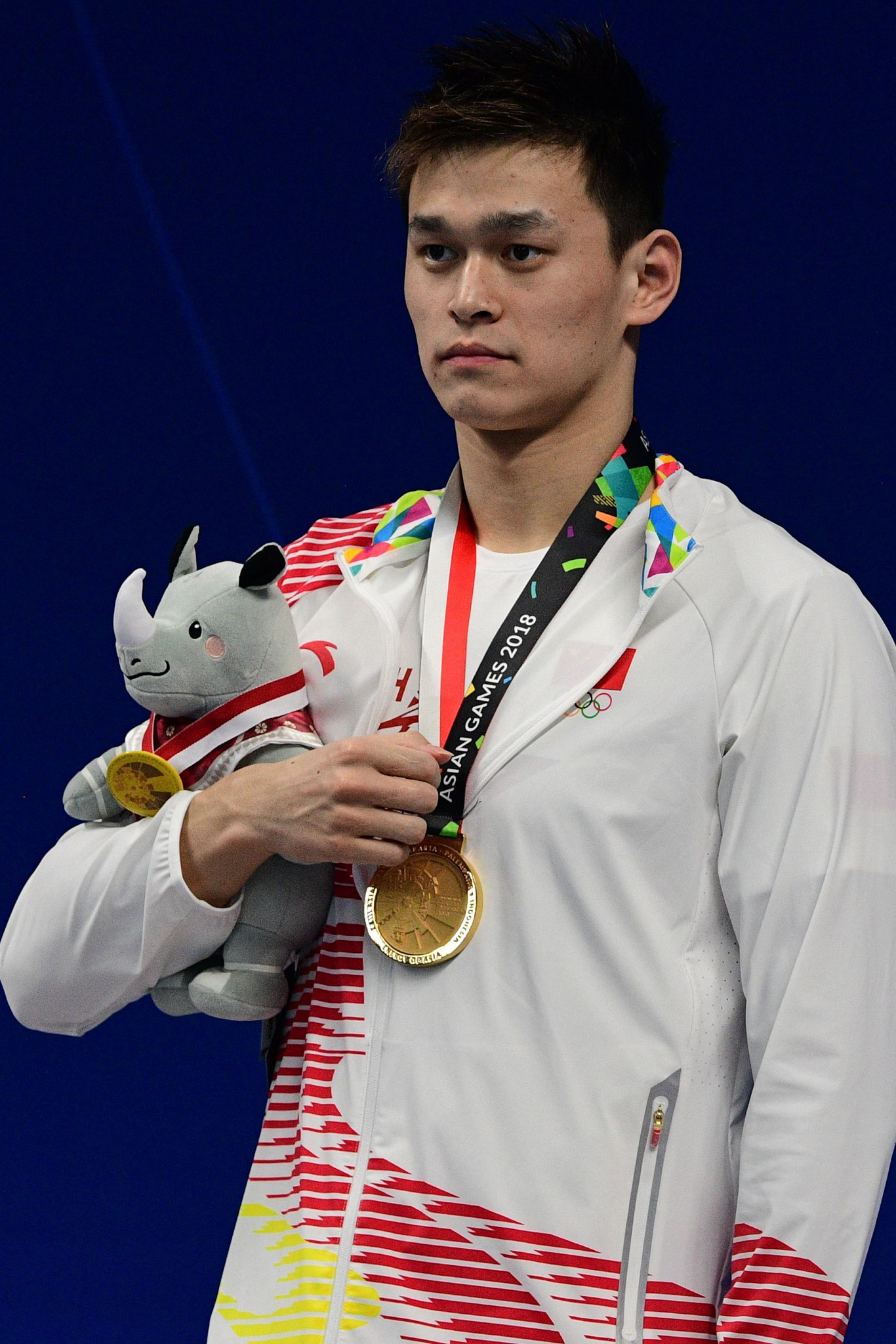 Sun Yang's incredible career continued, as the triple Olympic champion won his eighth Asian Games gold, in the men's 400m freestyle ©Getty Images
