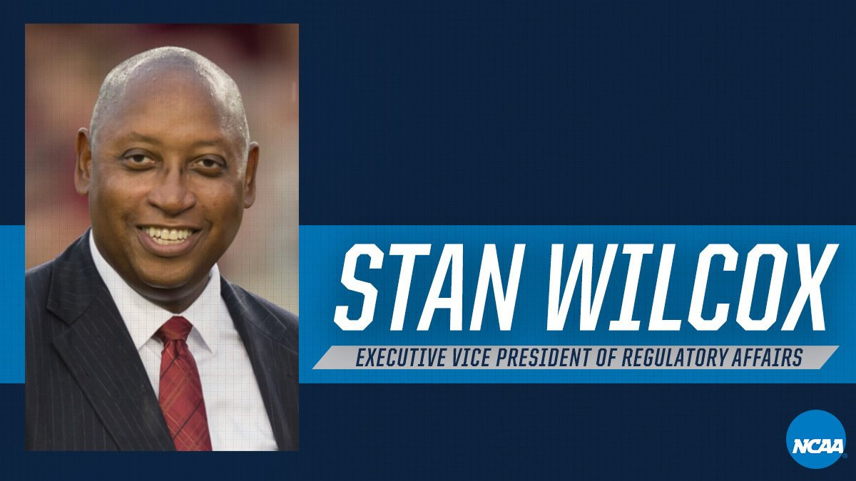 Stan Wilcox will take up his new post on October 1 ©NCAA