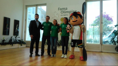 Portugal's Fernando Pimenta will go for double gold at the ICF Canoe Sprint and Paracanoe World Championshps that start in Montemor tomorrow ©ICF