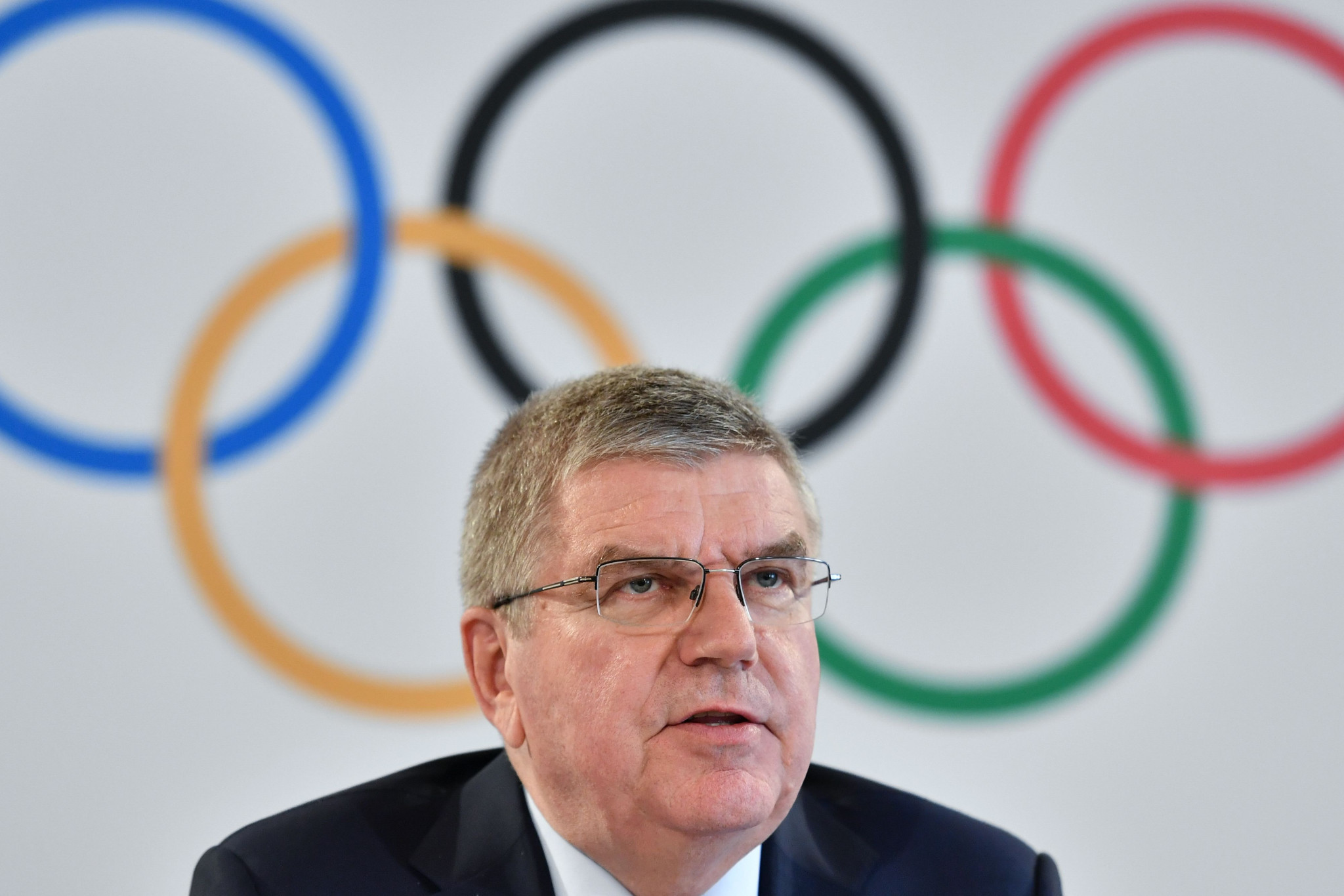 Thomas Bach conceded the IOC were considering a complete cancellation of the Games owing to security fears in the region ©Getty Images