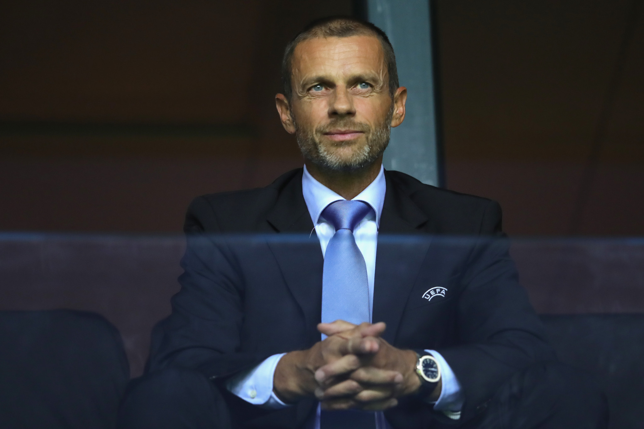 UEFA President Aleksander Čeferin has been formally nominated to stay in the post by nine European countries ©Getty Images